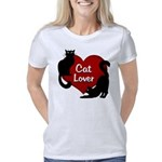 Cat Lover Black Cat T-shir Women's Classic T-Shirt