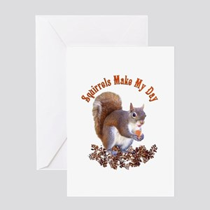 Squirrel Day Greeting Card