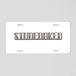STUDEBAKER Aluminum License Plate