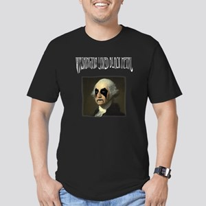 Washington Loved Black Metal Men's Fitted T-Shirt