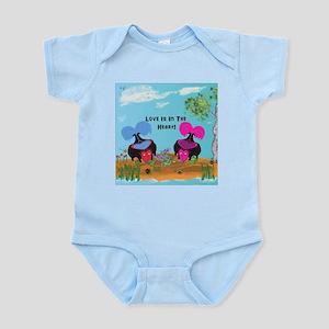 Love Is In The Heart! Infant Bodysuit