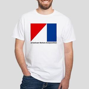 AMCFlagLogoTEXTLARGEbk T-Shirt