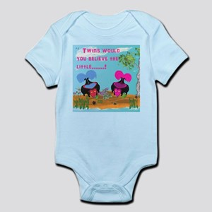 Twin's Would You Believe The Infant Bodysuit