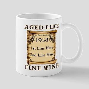 Fine Wine 1958 Mug