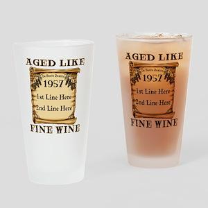 Fine Wine 1957 Drinking Glass