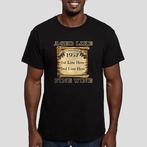 Fine Wine 1957 Men's Fitted T-Shirt (dark)