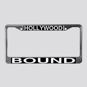 HOLLYWOOD BOUND License Plate Frame