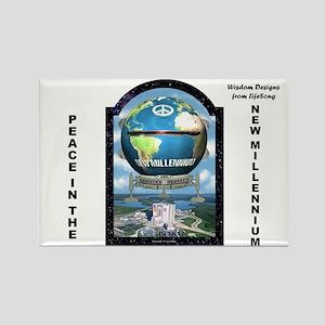 New Millennium Starship2 Rectangle Magnet
