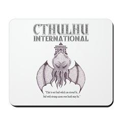 Cthulhu International Mouse Pad