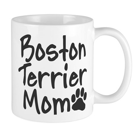 Boston Terrier MOM Mug