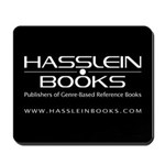 Hasslein Books Black Mousepad