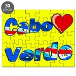 Cabo Verde Heart Puzzle