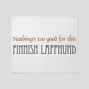 NTG-Finnish Lapphund Throw Blanket