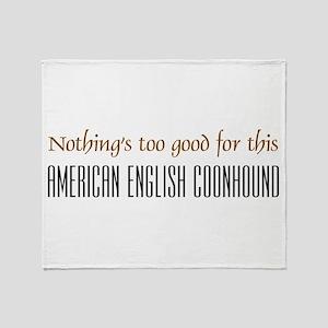 NTG-American English Coonhound Throw Blanket