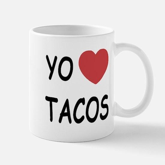 Yo amo tacos Mug