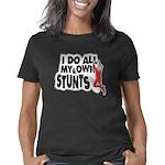 myownstunts_black3 Women's Classic T-Shirt