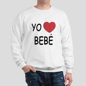 Yo amo bebe Sweatshirt