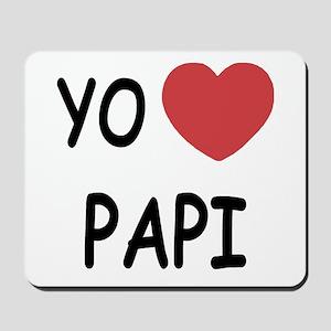 Yo amo papi Mousepad