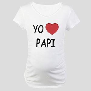 Yo amo papi Maternity T-Shirt