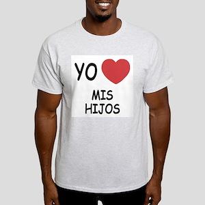 Yo amo mis hijos Light T-Shirt