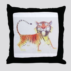 Cute Tiger Throw Pillow