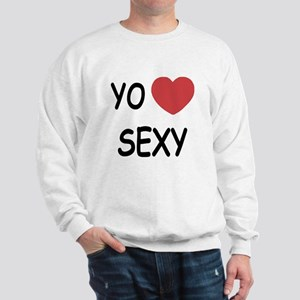 Yo amo sexy Sweatshirt