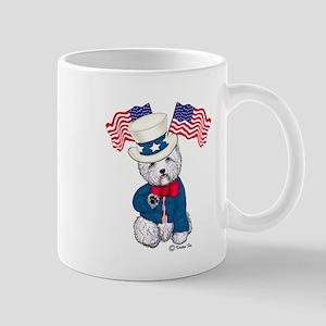 Yankee Doodle Westie Mug