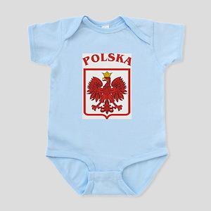 06129c700eb5 Polska Soccer Baby Clothes   Accessories - CafePress
