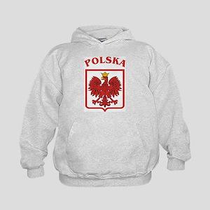 Polish Eagle / Polska Eagle Kids Hoodie