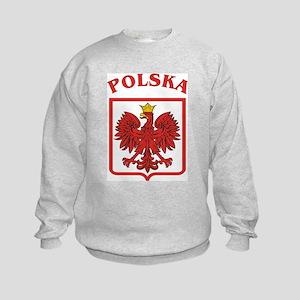 Polish Eagle / Polska Eagle Kids Sweatshirt