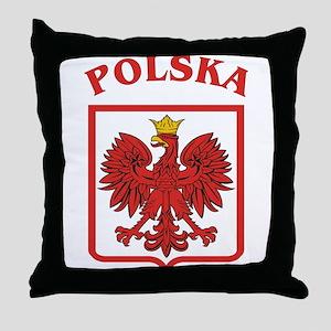 Polish Eagle / Polska Eagle Throw Pillow