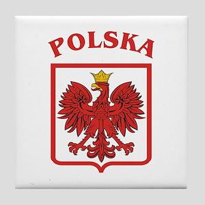 Polish Eagle / Polska Eagle Tile Coaster