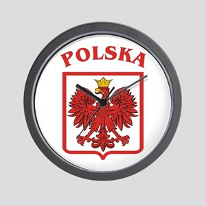 Polish Eagle / Polska Eagle Wall Clock