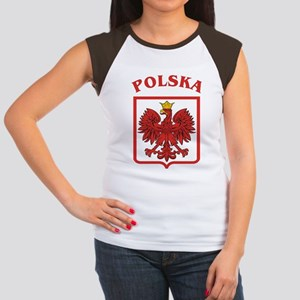 Polish Eagle / Polska Eagle Women's Cap Sleeve T-S