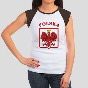 Polish Eagle / Polska Eagle Women's Cap Sleeve T-S