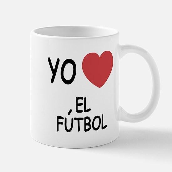 Yo amo el futbol Mug
