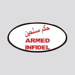 Arabic Armed Infidel Patches