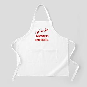 Arabic Armed Infidel Apron