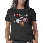 i-love-animals-black-01 Women's Classic T-Shirt