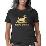 Fast Food Deer Women's Classic T-Shirt