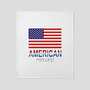 American Throw Blanket