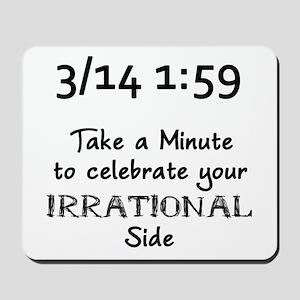 Pi Day Irrational Mousepad