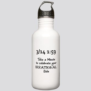 Pi Day Irrational Stainless Water Bottle 1.0L