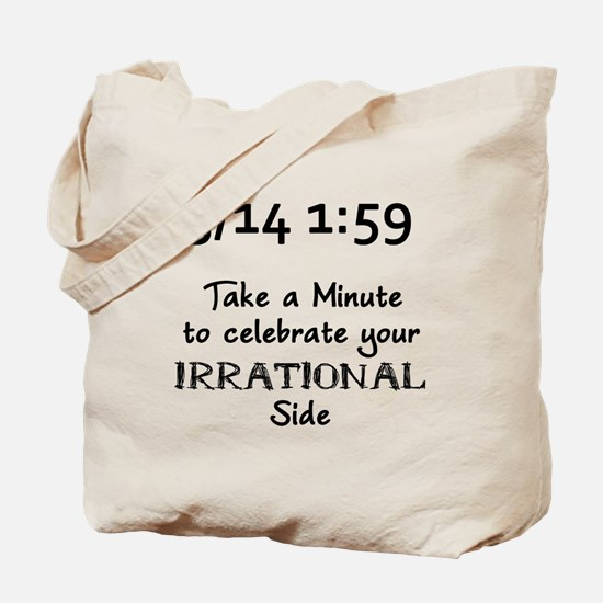Pi Day Irrational Tote Bag