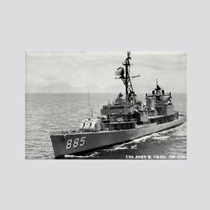 USS JOHN R. CRAIG Rectangle Magnet