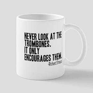 Trombone Quote Mug