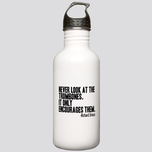 Trombone Quote Stainless Water Bottle 1.0L