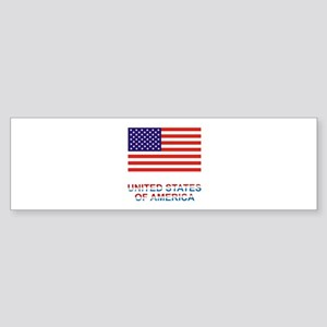 U.S.A. Sticker (Bumper)