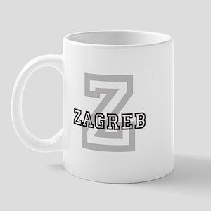 Letter Z: Zagreb Mug