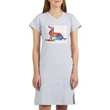 Whimsical Dachshund Fun Women's Nightshirt